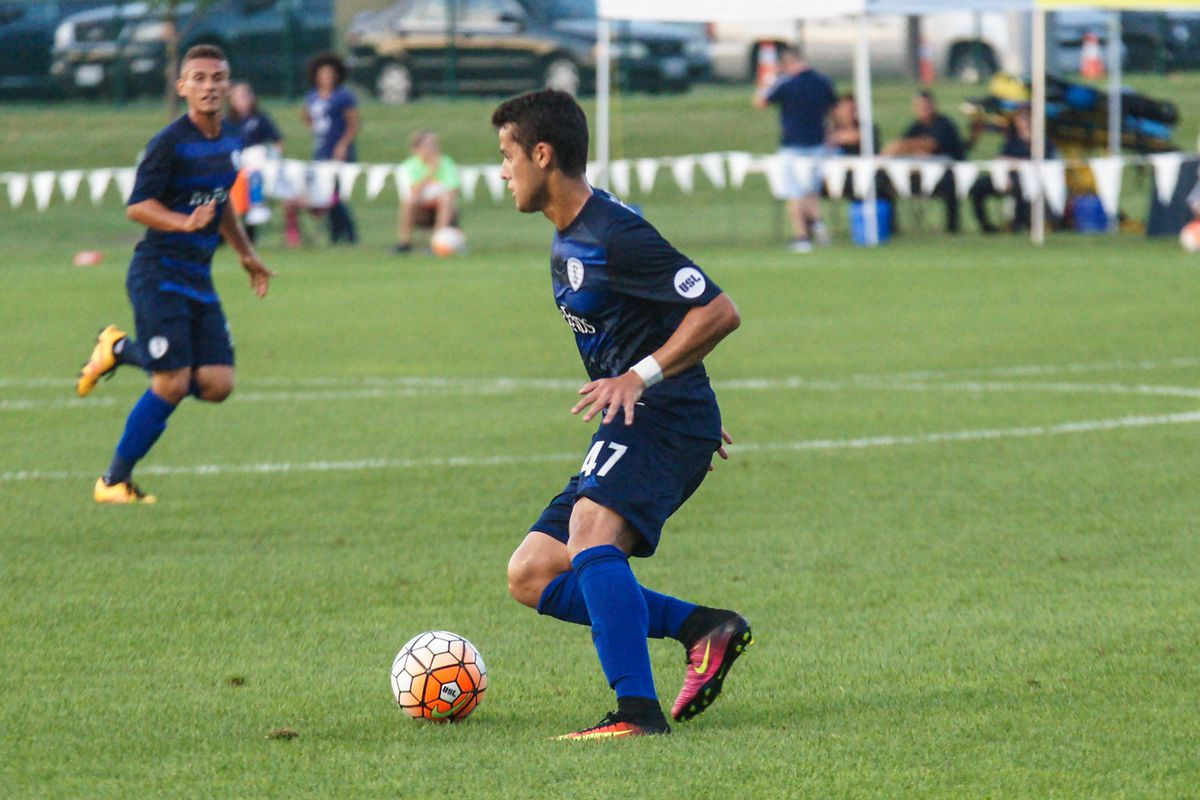 Mark Anthony Gonzalez leads the team with seven goals