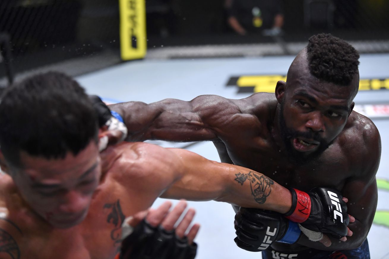 UFC Fight Night: Pitolo v Kasanganay