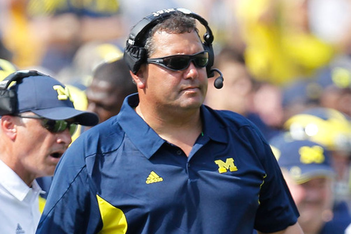 Brady Hoke recruits good linemen. Now, he must develop them--and secure a few in 2015.