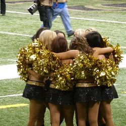 Saintsations celebrate another season in the books.