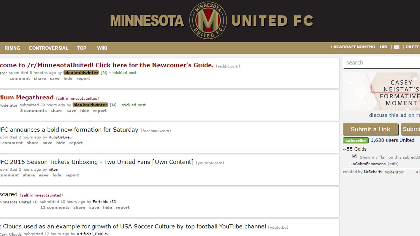 Minnesota United's reddit page trolls Atlanta United on April Fool's