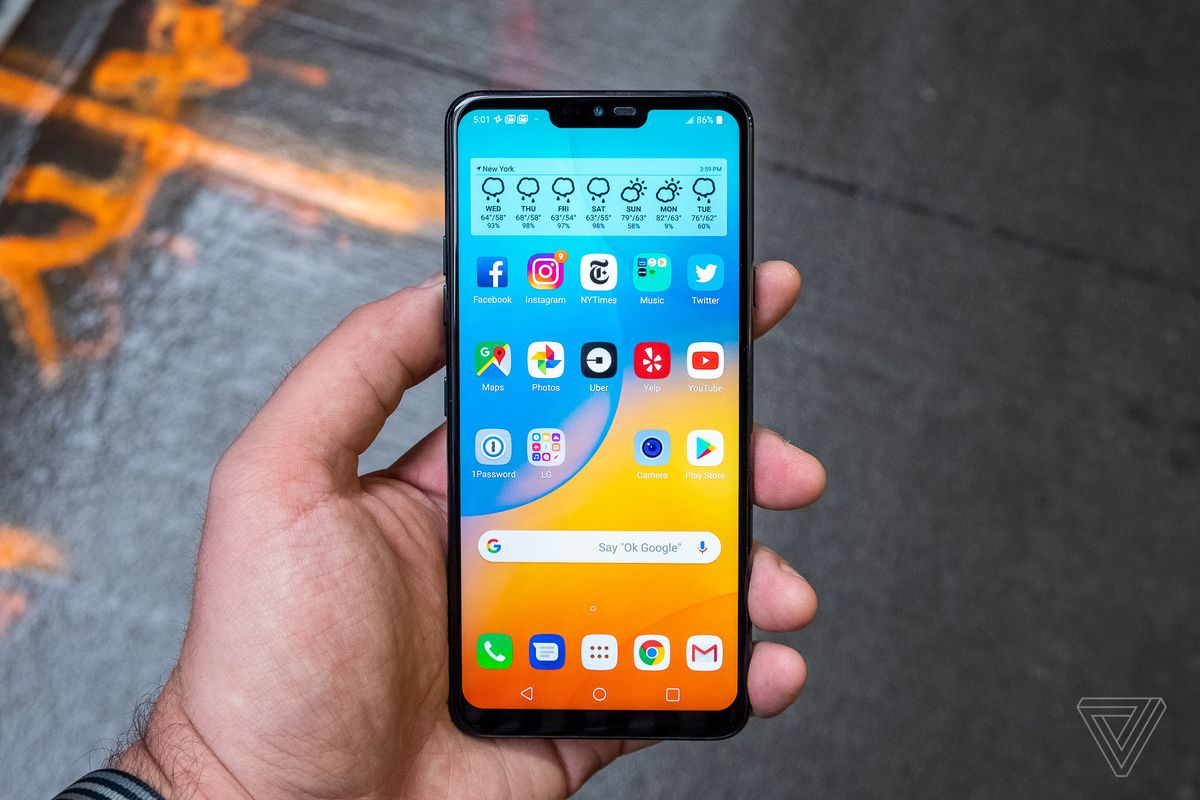 huge discount 0d35a 04afb How to preorder the LG G7 ThinQ - The Verge