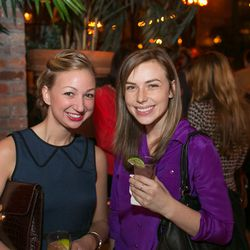Eater Associate Editor Hannah Leighton and intern Ashley Mason