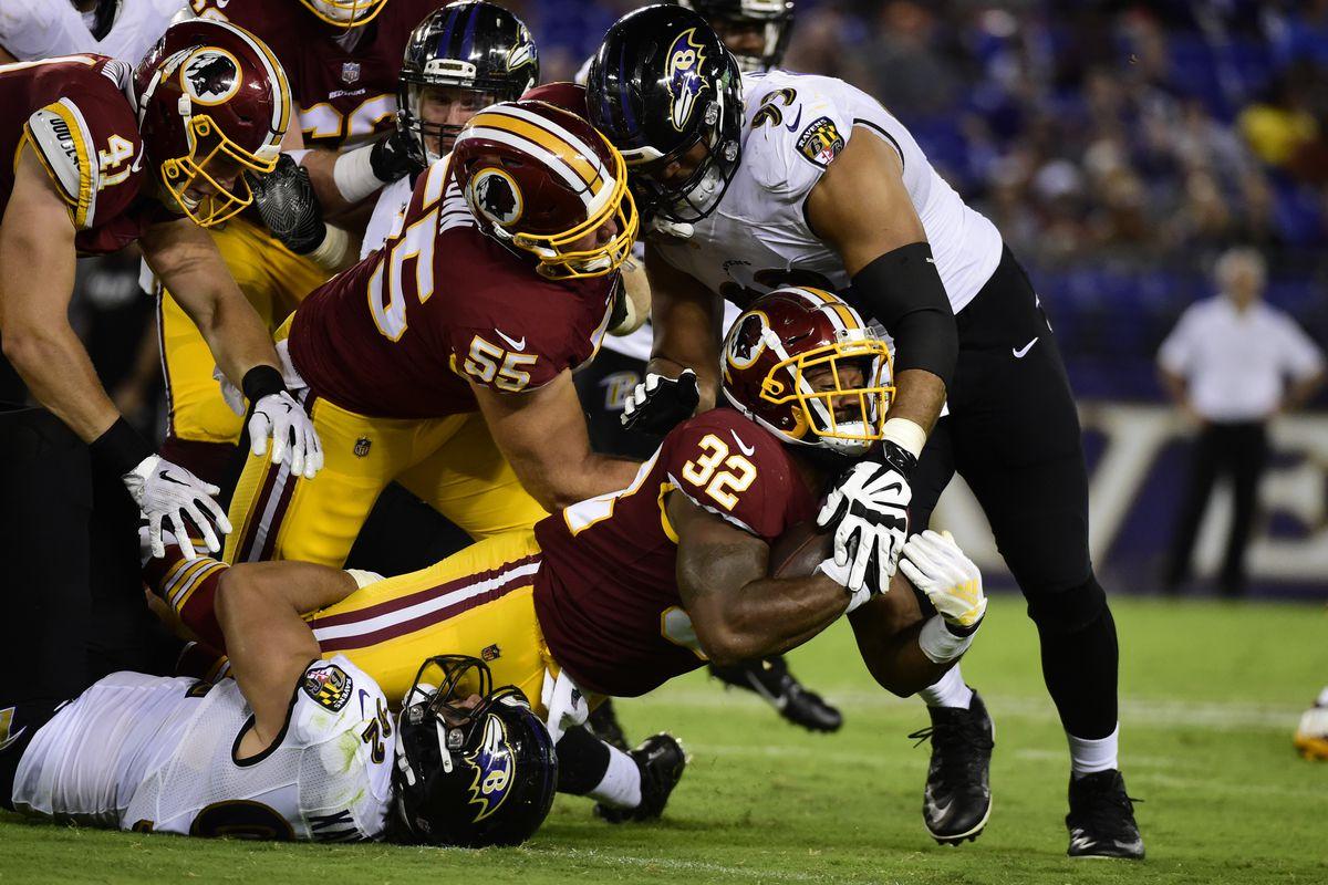 NFL: Washington Redskins at Baltimore Ravens
