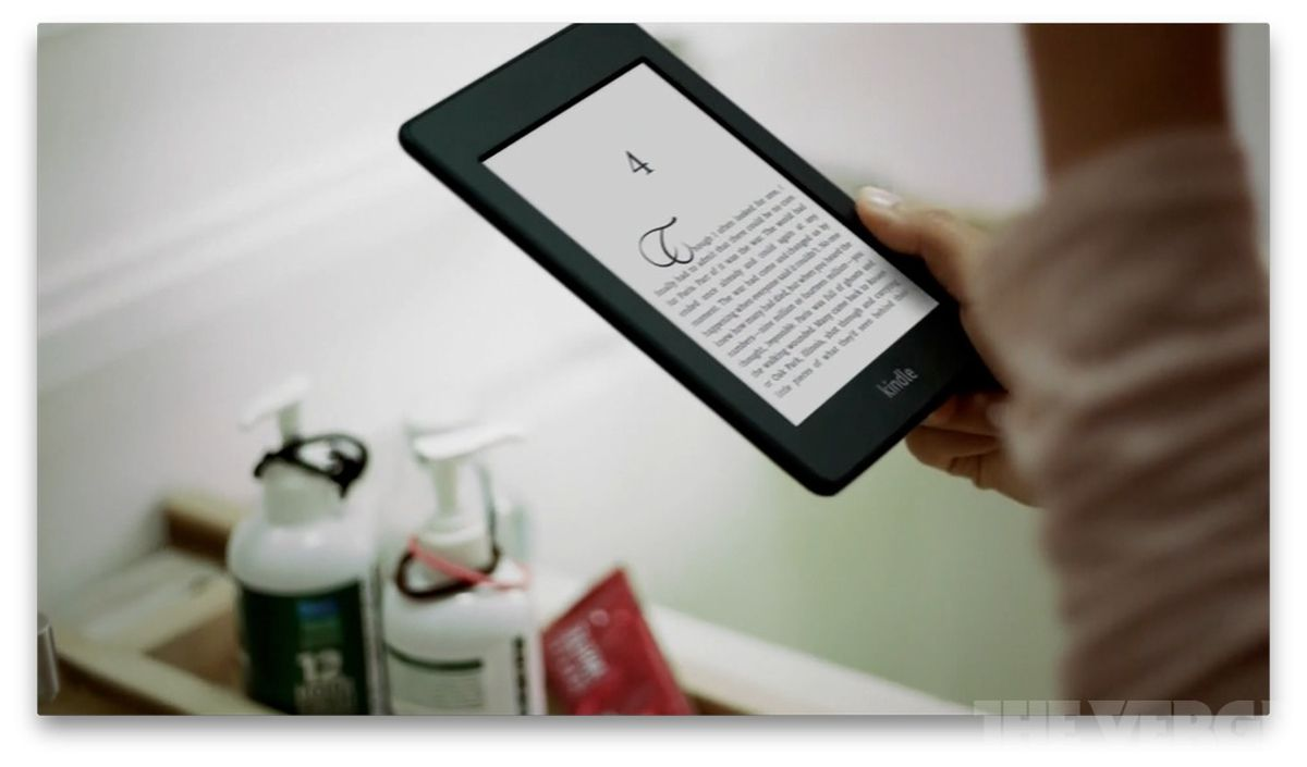 paperwhite kindle ad