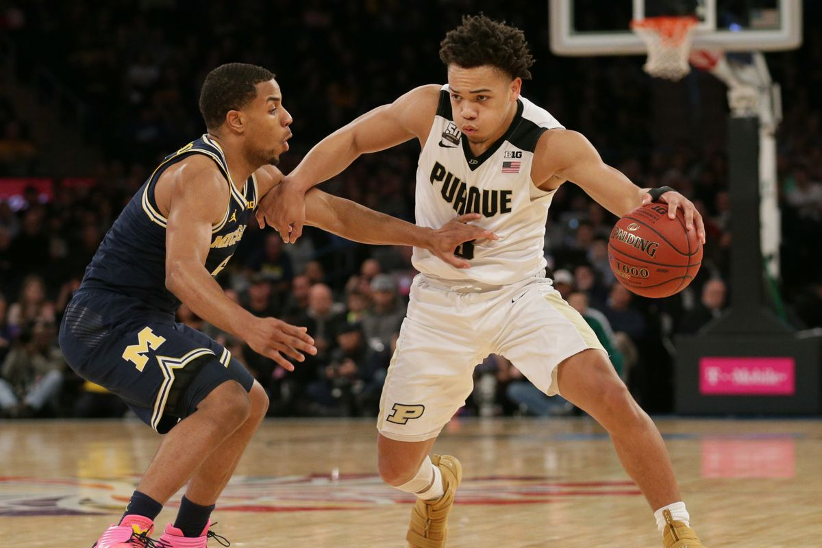 Big Ten Tournament 2018: Purdue 66, Michigan 75 - Hammer and Rails
