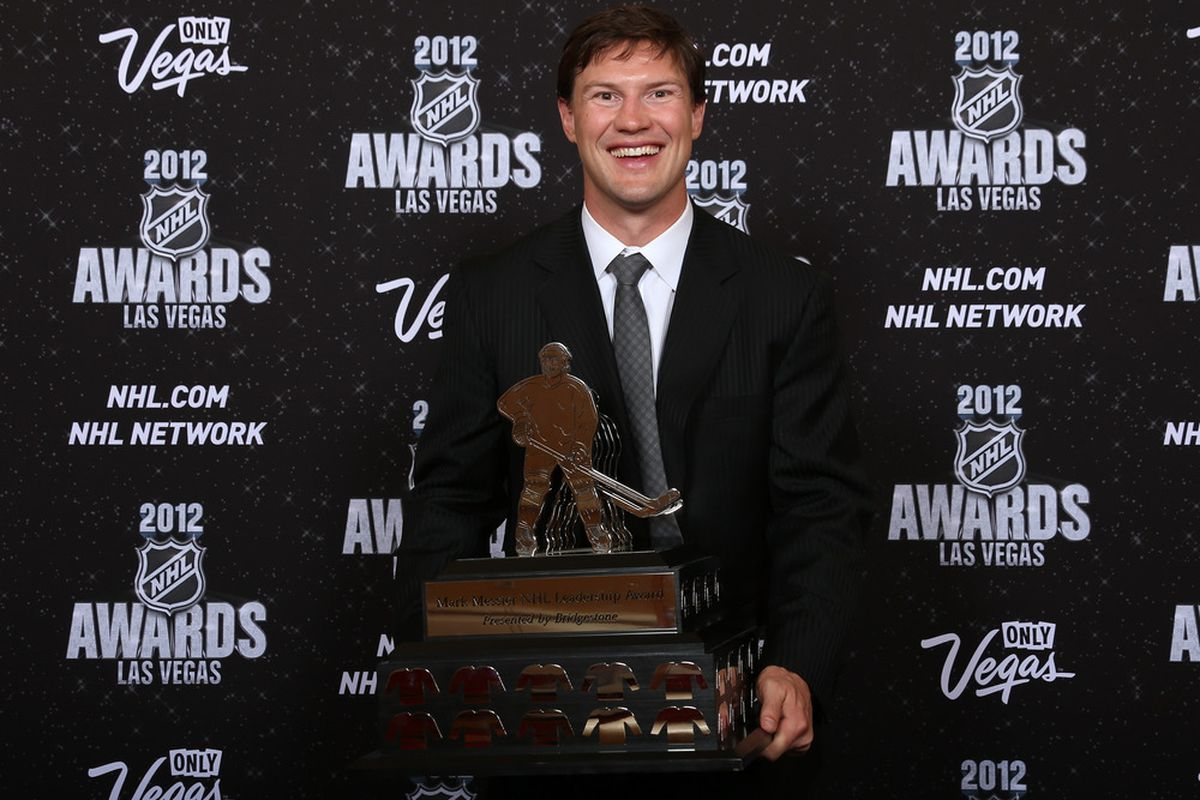 Shane Doan got to be one of those rare people who leaves Vegas with more than he arrived with. (Photo by Bruce Bennett/Getty Images)