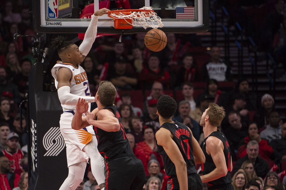 Preview/Thread: Phoenix Suns stay in the Northwest to face off against the Trailblazers