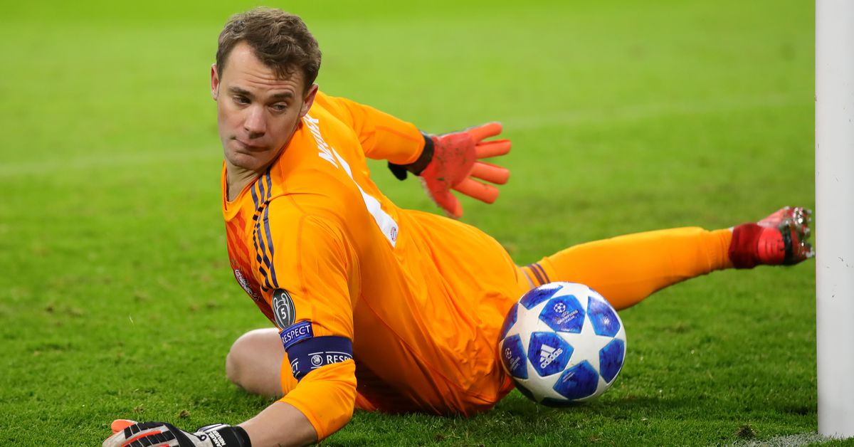 3871927e3f Manuel Neuer Thinks He ll Be Fit For Anfield Champions