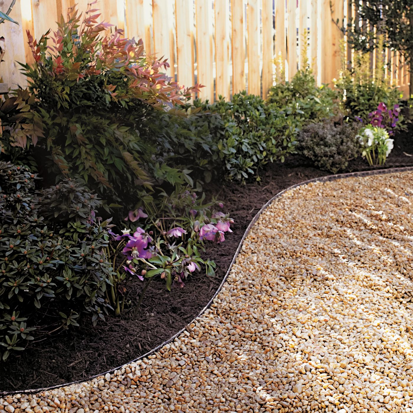 How To Lay A Budget Friendly Gravel Path This Old House