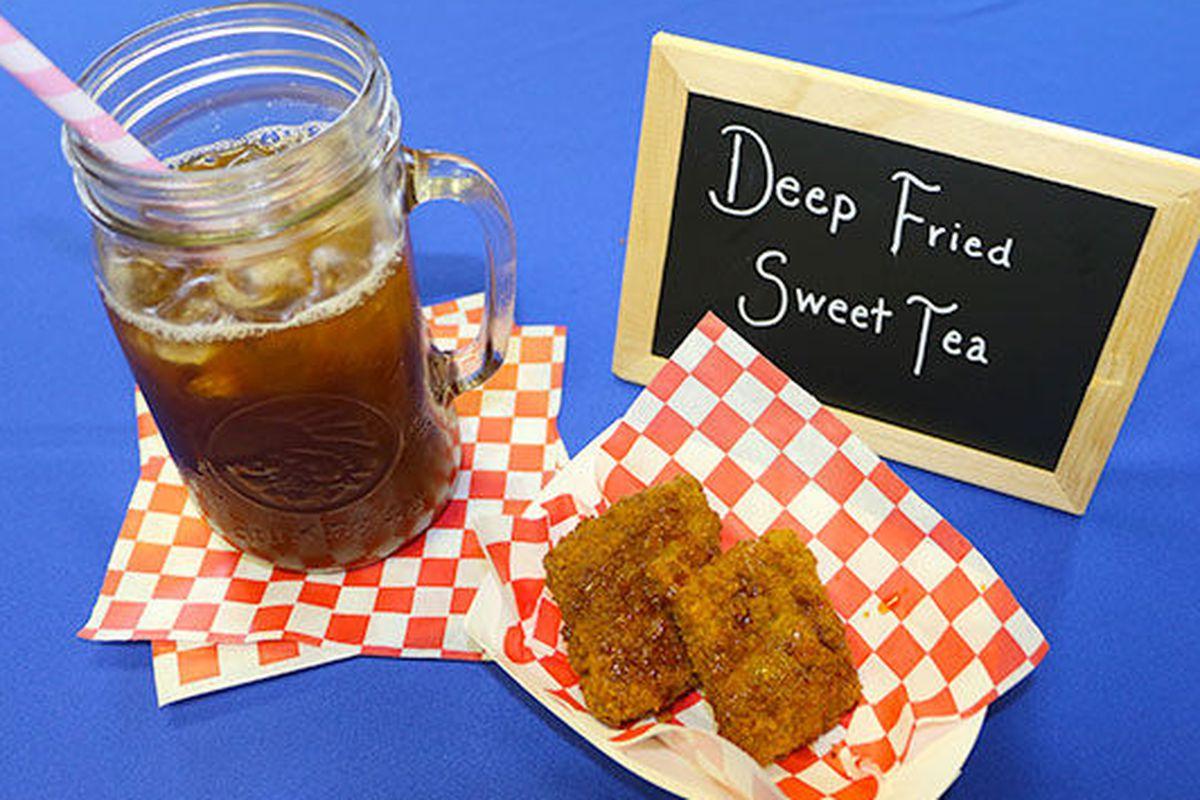 Sweet tea, fried.