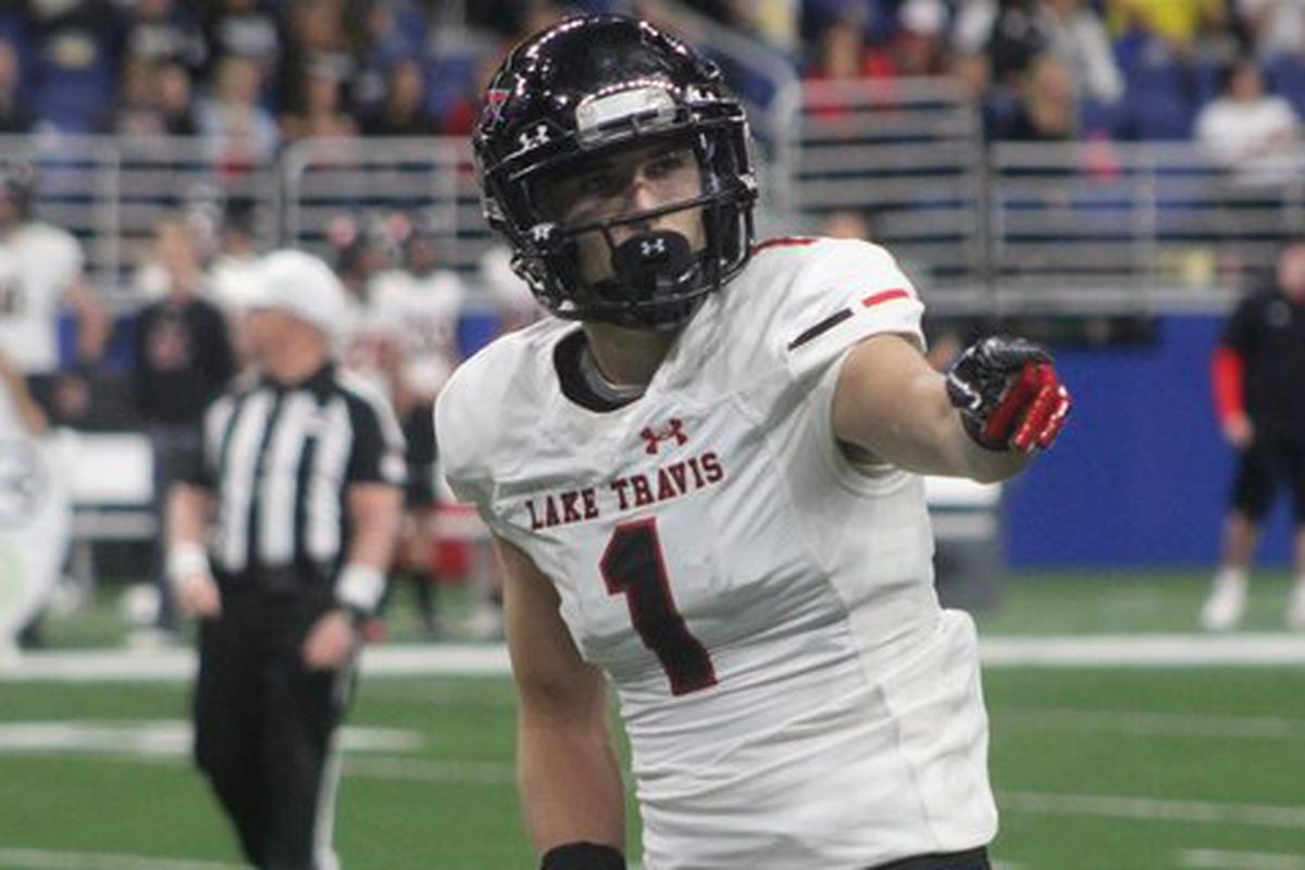 Texas Qb Commit Hudson Card Has Heisman Potential Says Elite Lake