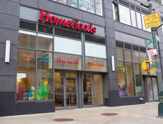 Image via Madison Avenue Spy. HomeGoods  the TJ Maxx of Furniture  Opens Uptown   Racked NY