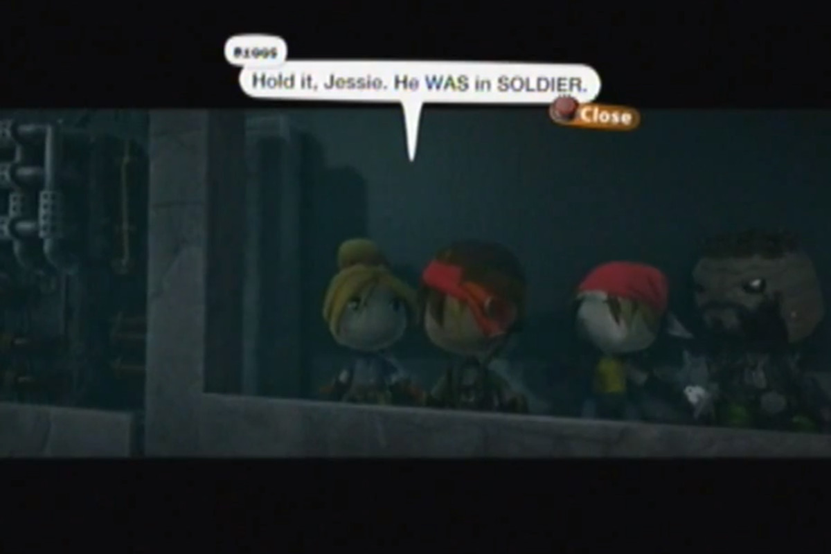 Level editor recreates 'Final Fantasy 7' in 'LittleBigPlanet