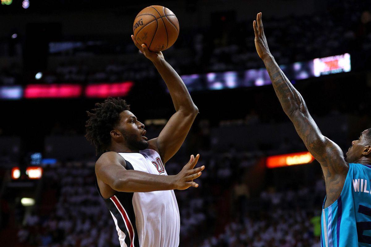 Charlotte Hornets v Miami Heat - Game One