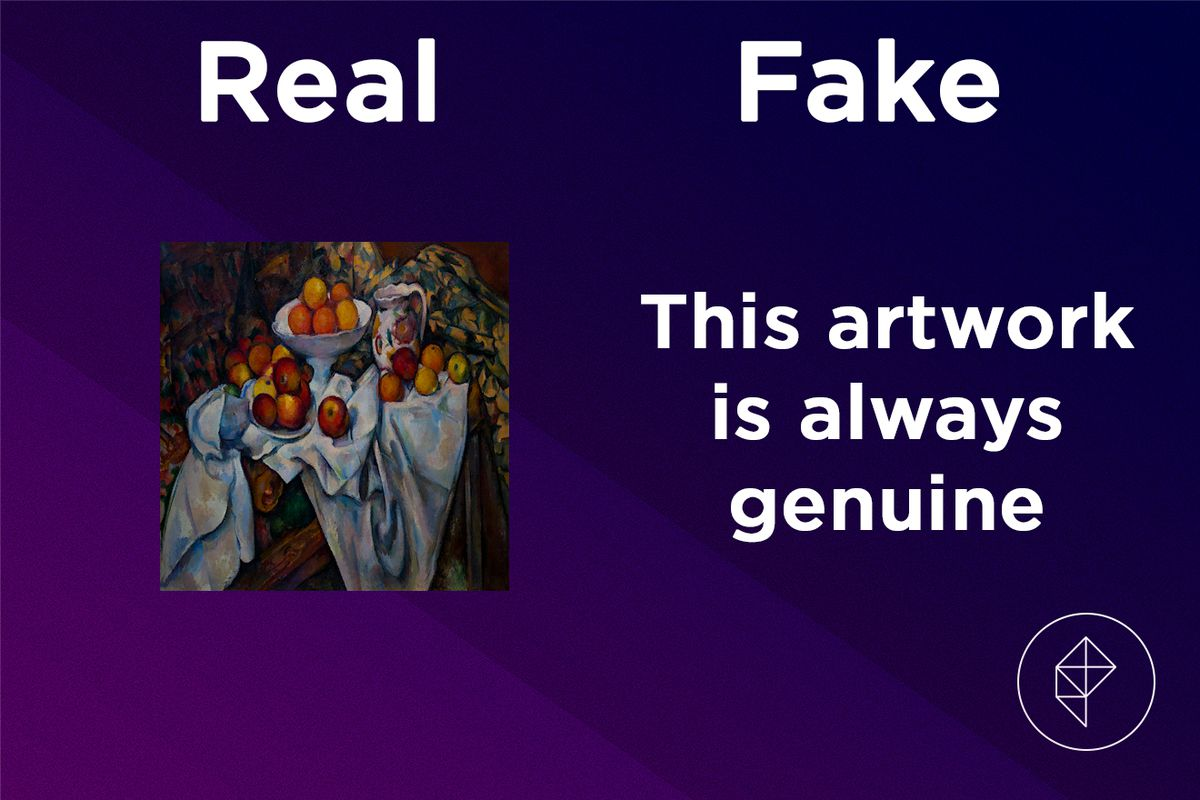 The Perfect Painting is never fake