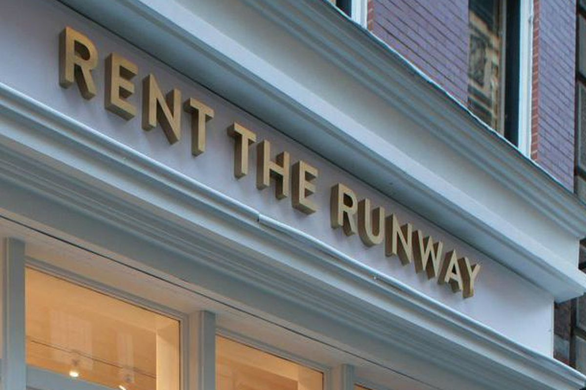 The Rent the Runway store in Flatiron