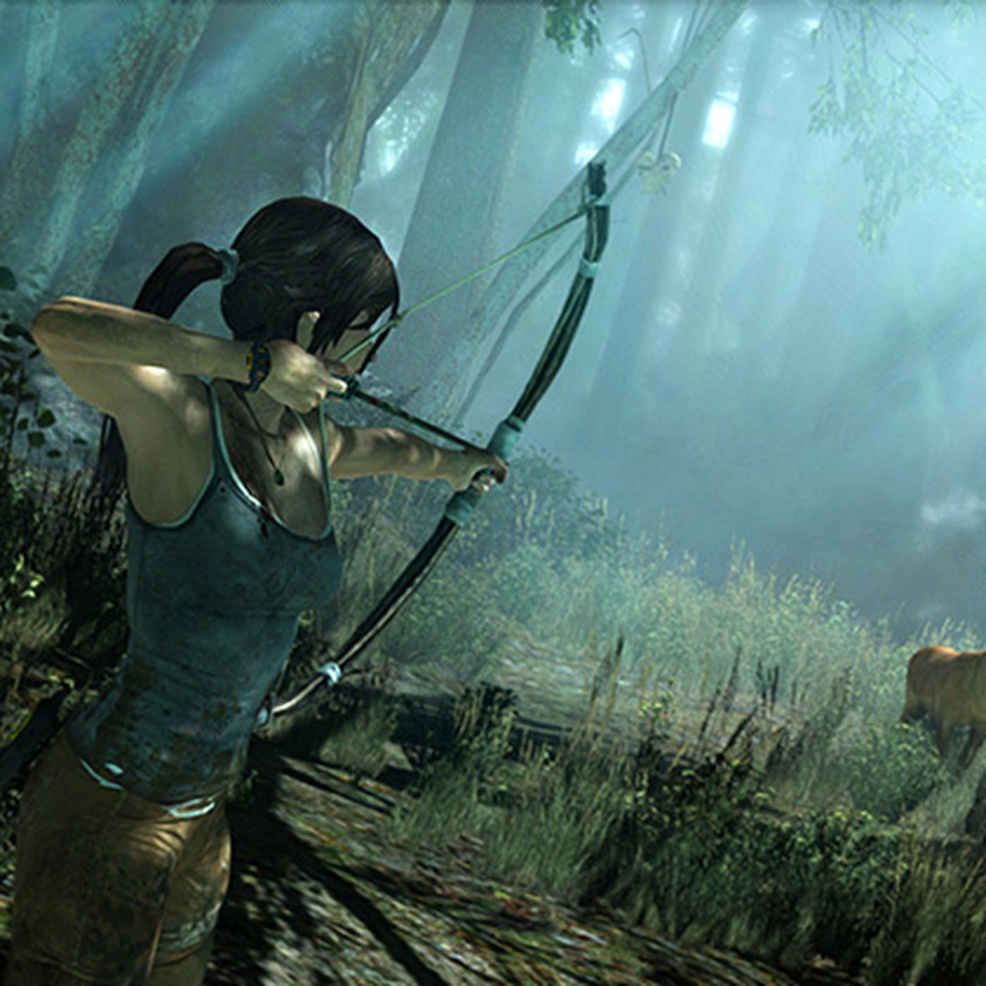 Tomb Raider Pax Demo Shows Lara Croft Platforming And Hunting