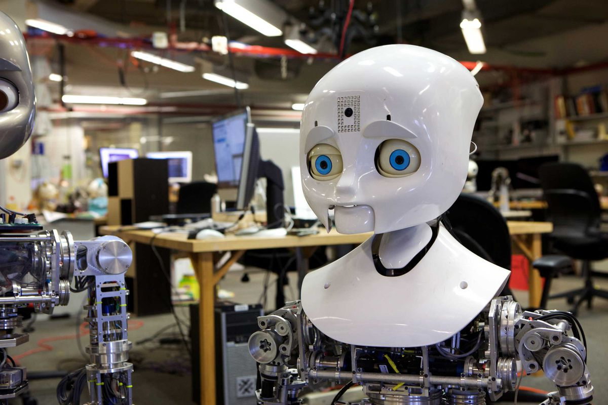 A social robot at the MIT Media Lab