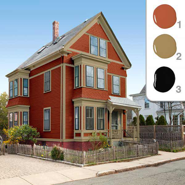 Picking The Perfect Exterior Paint Colors This Old House,Best Exterior House Paint Colors In India