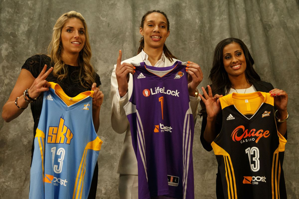Three of the most highly touted rookies ever have been named to the 2013 WNBA All-Rookie team.