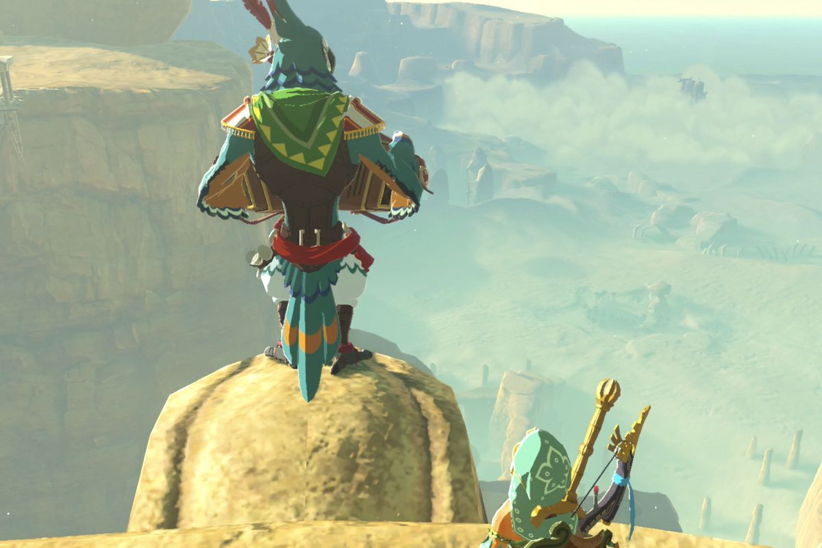 Zelda Breath Of The Wild Guide Sign Of The Shadow Shrine