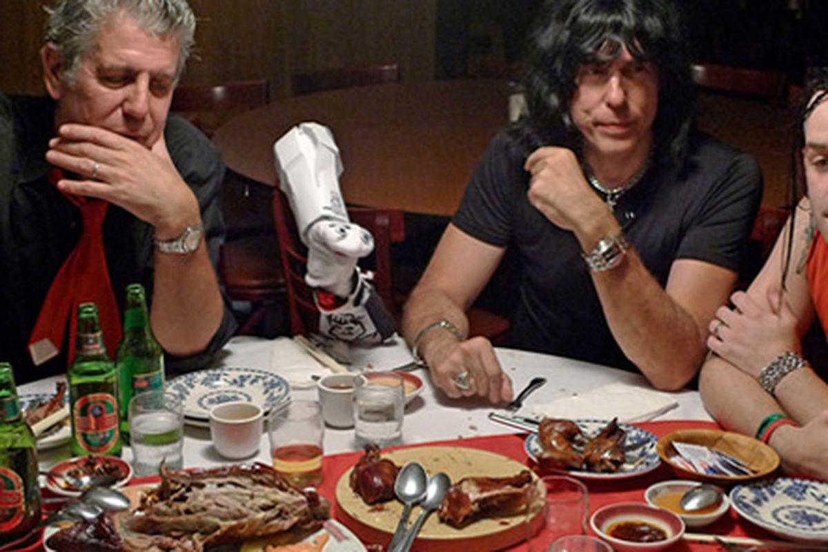 Anthony Bourdain, Mr. Socks, Marky Ramone, and Michael Graves