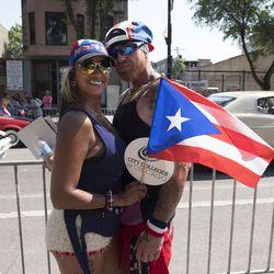 Michelle Garcia and Edwardo Colon. | Rick Majewski/For the Sun-Times.