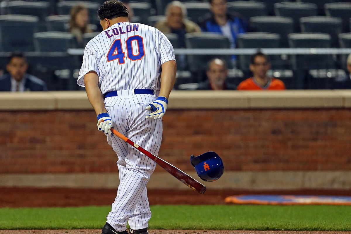 Sure.. He's a Met, but he's still one of the most lovable players in the majors. Omar Minaya crippled the Expos farm system in 2002 dealing for Bartolo Colon. On Friday, one of the players dealt in that trade was DFA'd.