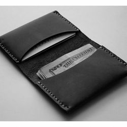"""Handcrafted leather <a href=""""http://www.waskerd.com/wallets/madison.html"""">Madison Wallet</a>, $75 from Manayunk's Waskerd"""