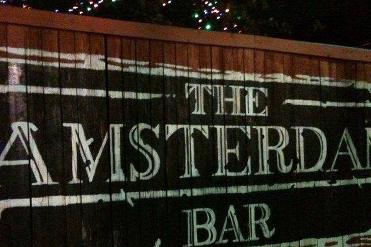 The Amsterdam Bar.