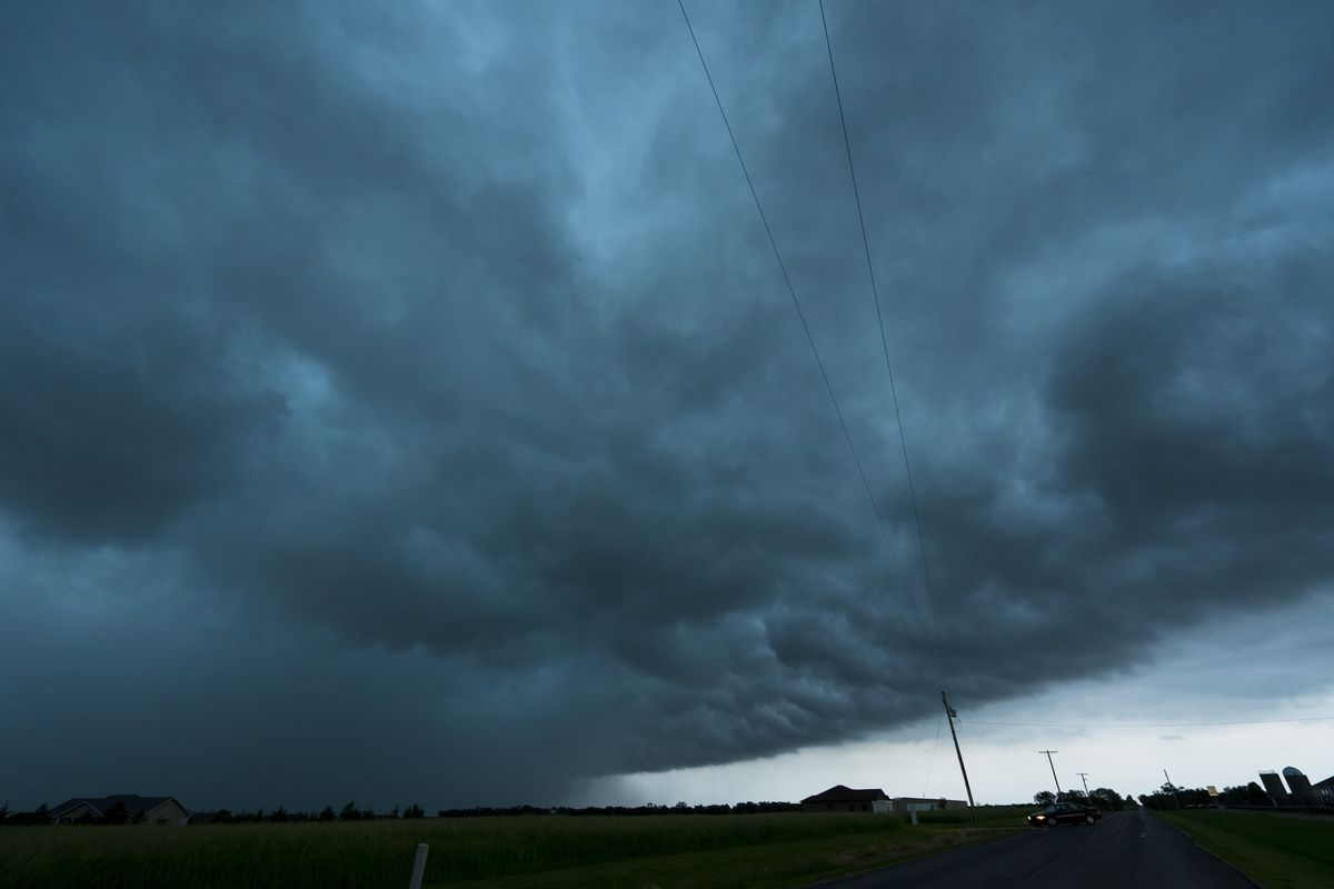 Large Tornadoes Touch Down Around Kansas City As Extreme Midwest Weather Continues