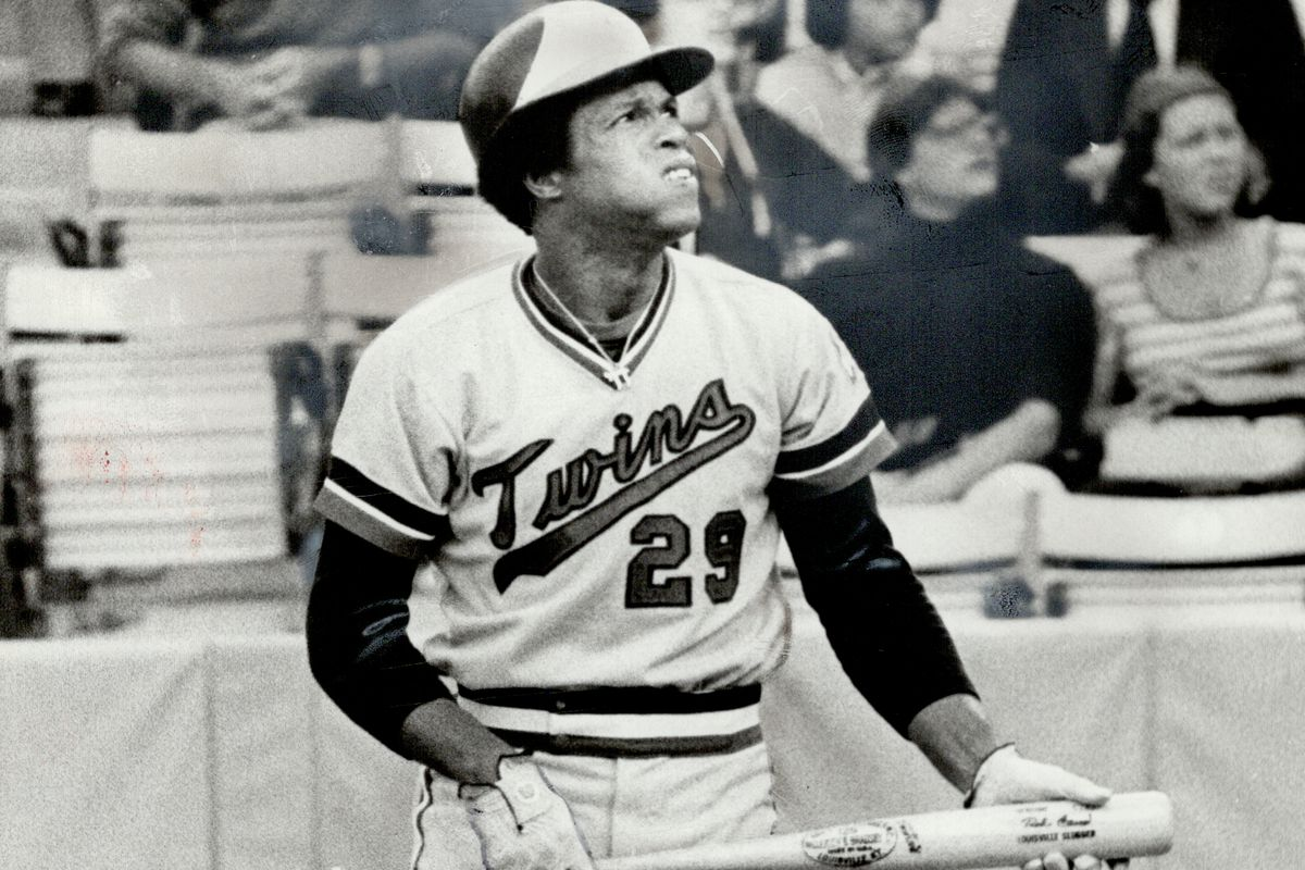 Maybe next time: This one was foul, but over the season enough hits have fallen in to make Rod Carew