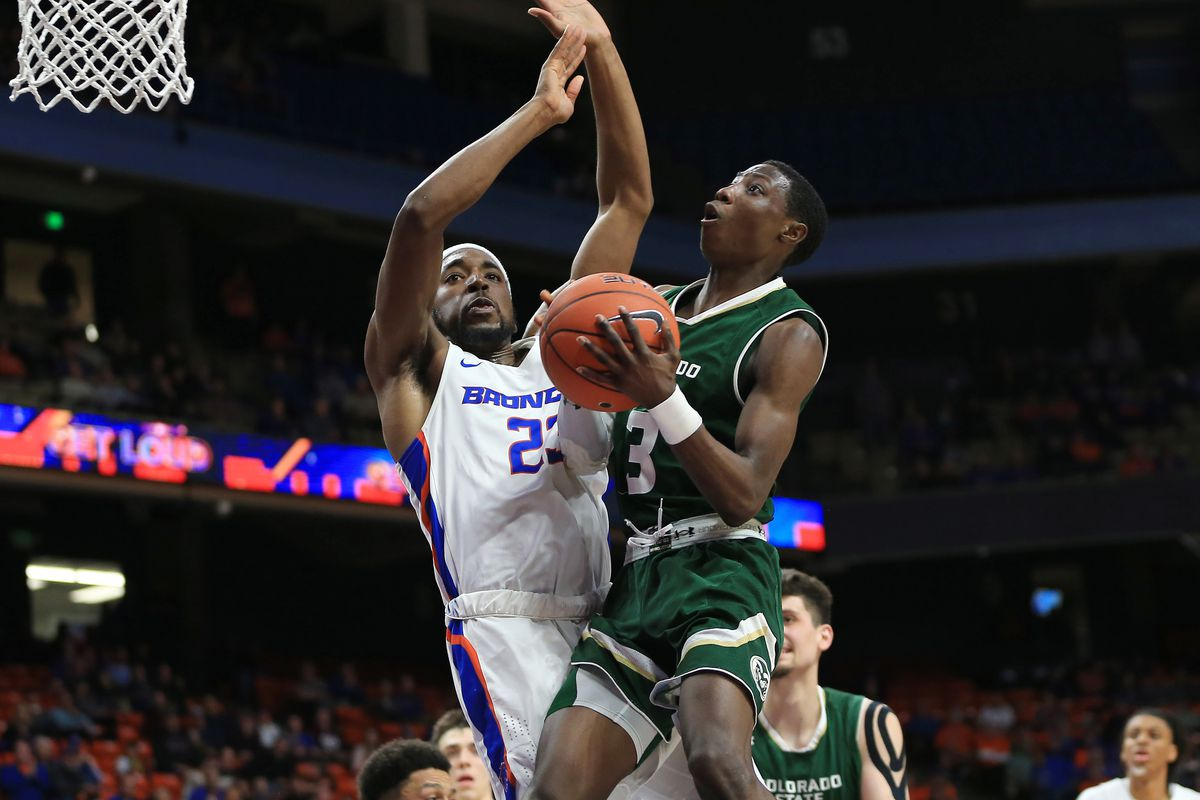 NCAA Basketball: Colorado State at Boise State