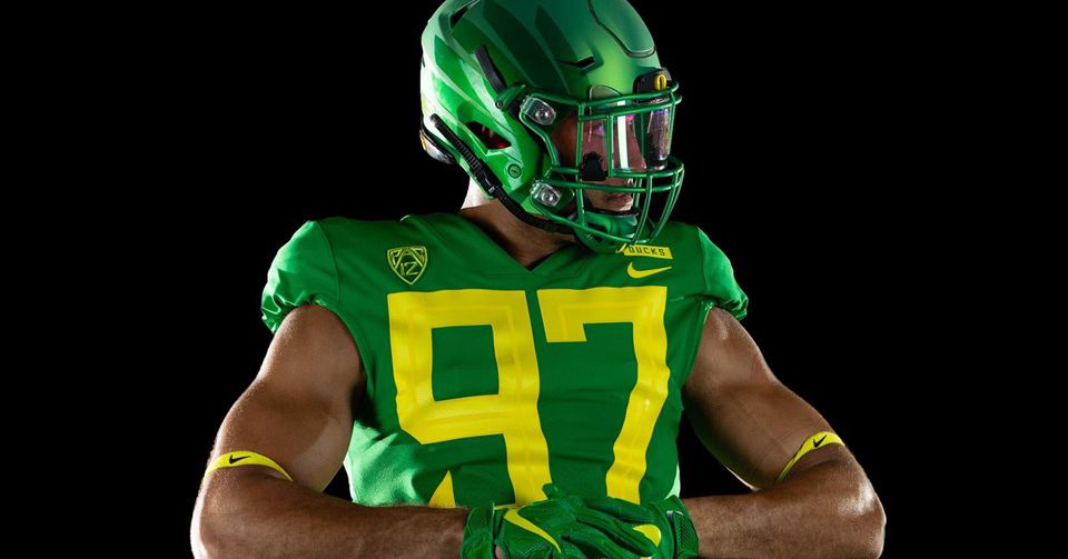 Oregon's new uniforms are fresh, but have hilarious ...