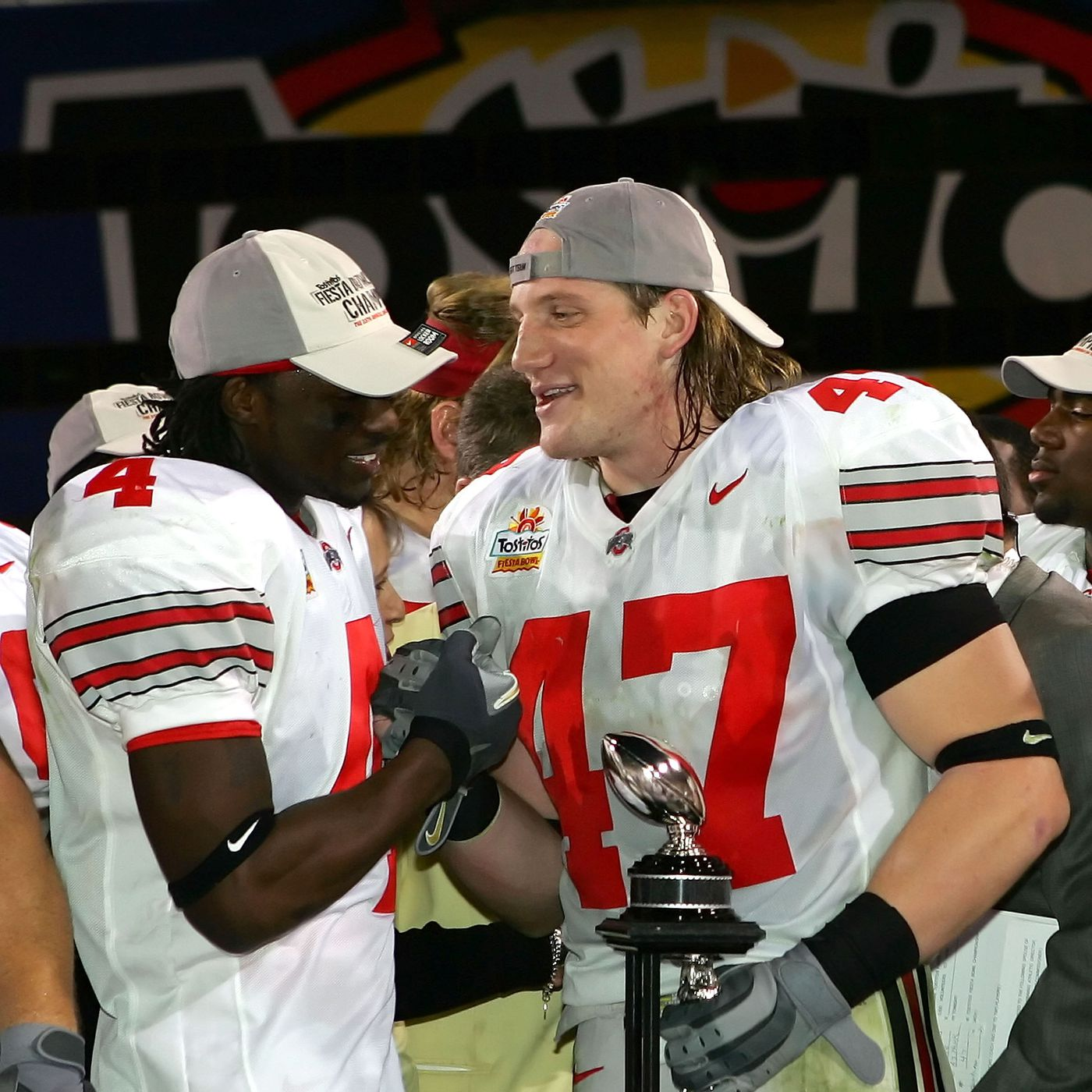 best service d5802 4a963 A.J. Hawk delivers message to Ohio State players heading ...