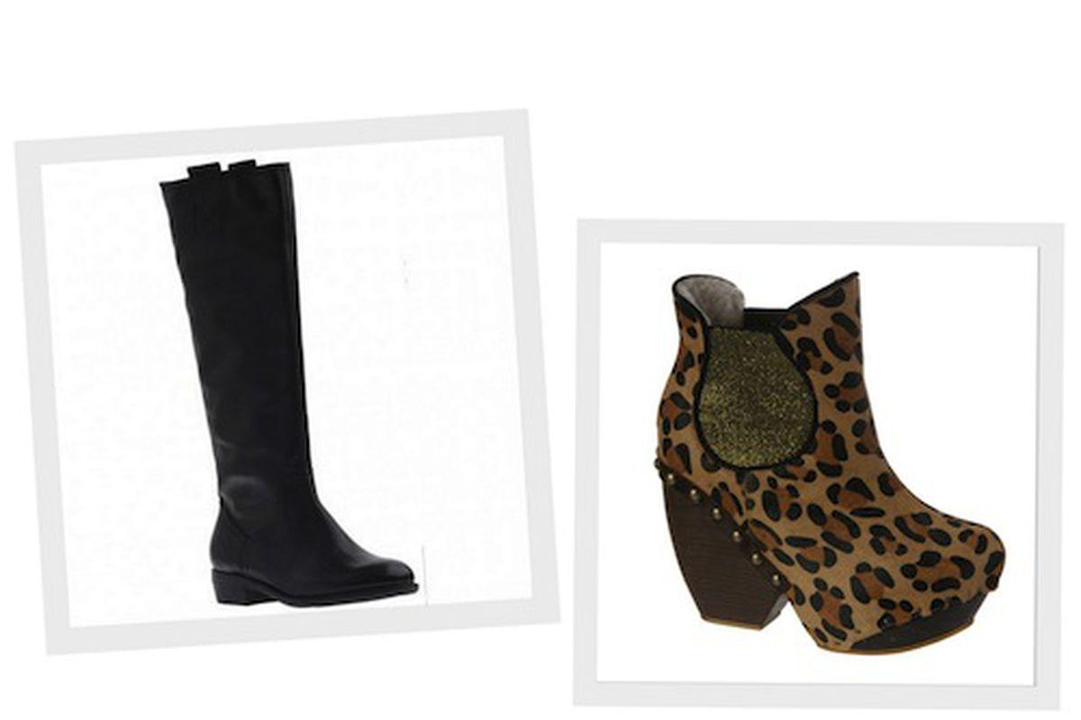 Nicole Smoothy Boots; Irregular Choice Collagen Kiss Booties