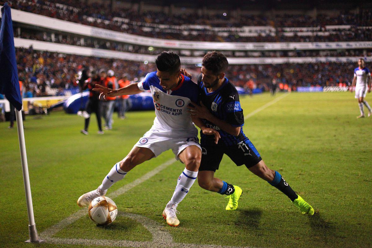 Queretaro v Cruz Azul - Playoffs Torneo Apertura 2018 Liga MX