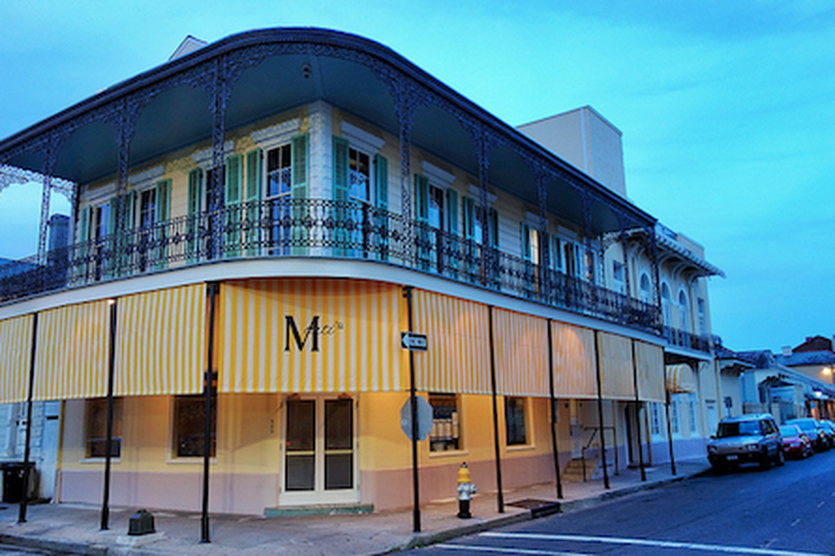 The upcoming Marti's at Rampart and Dumaine