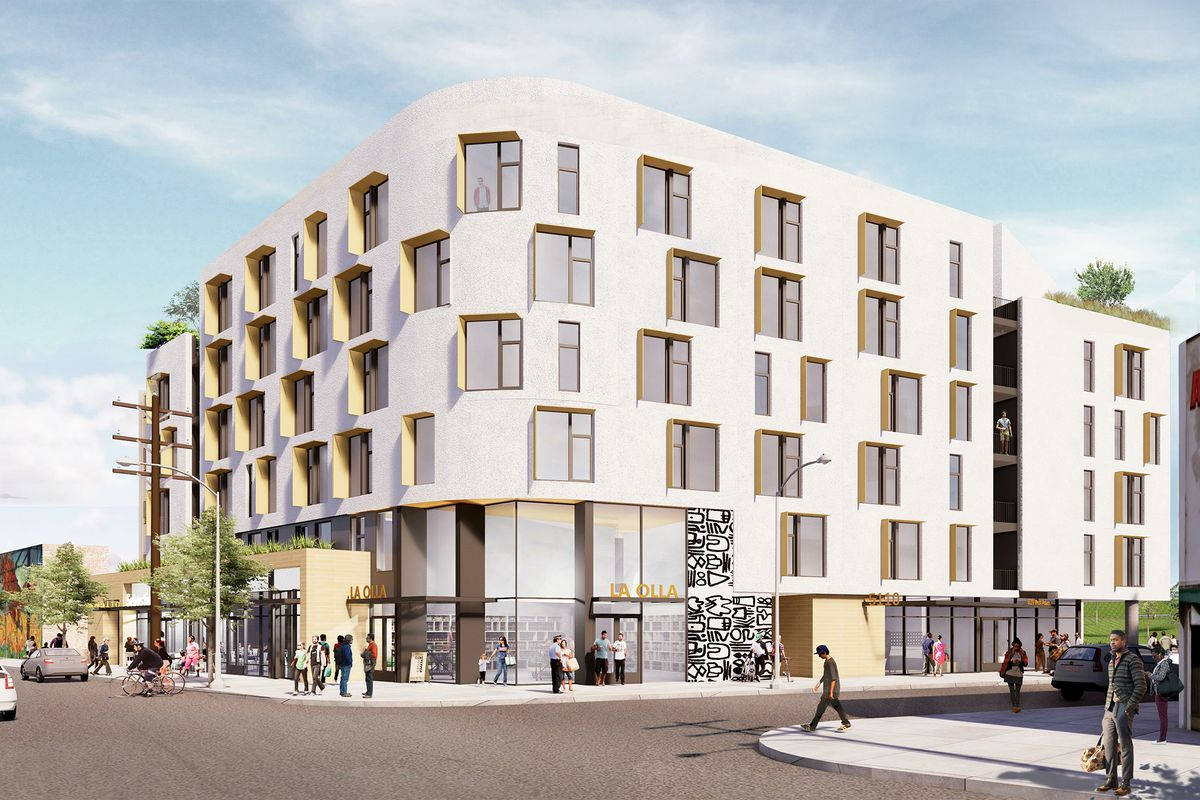 see the six story retail residential complex slated for west adams