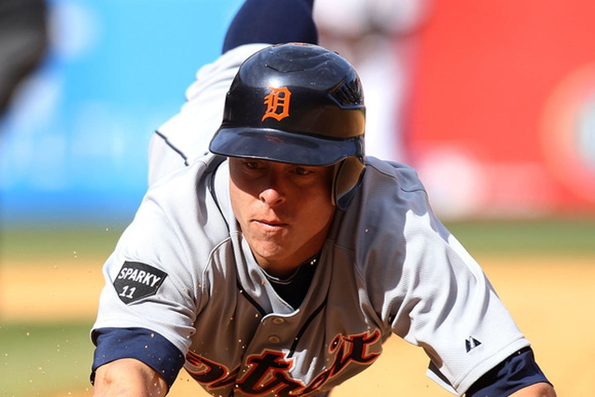 By rule we must post a Brandon Inge photo every three days.