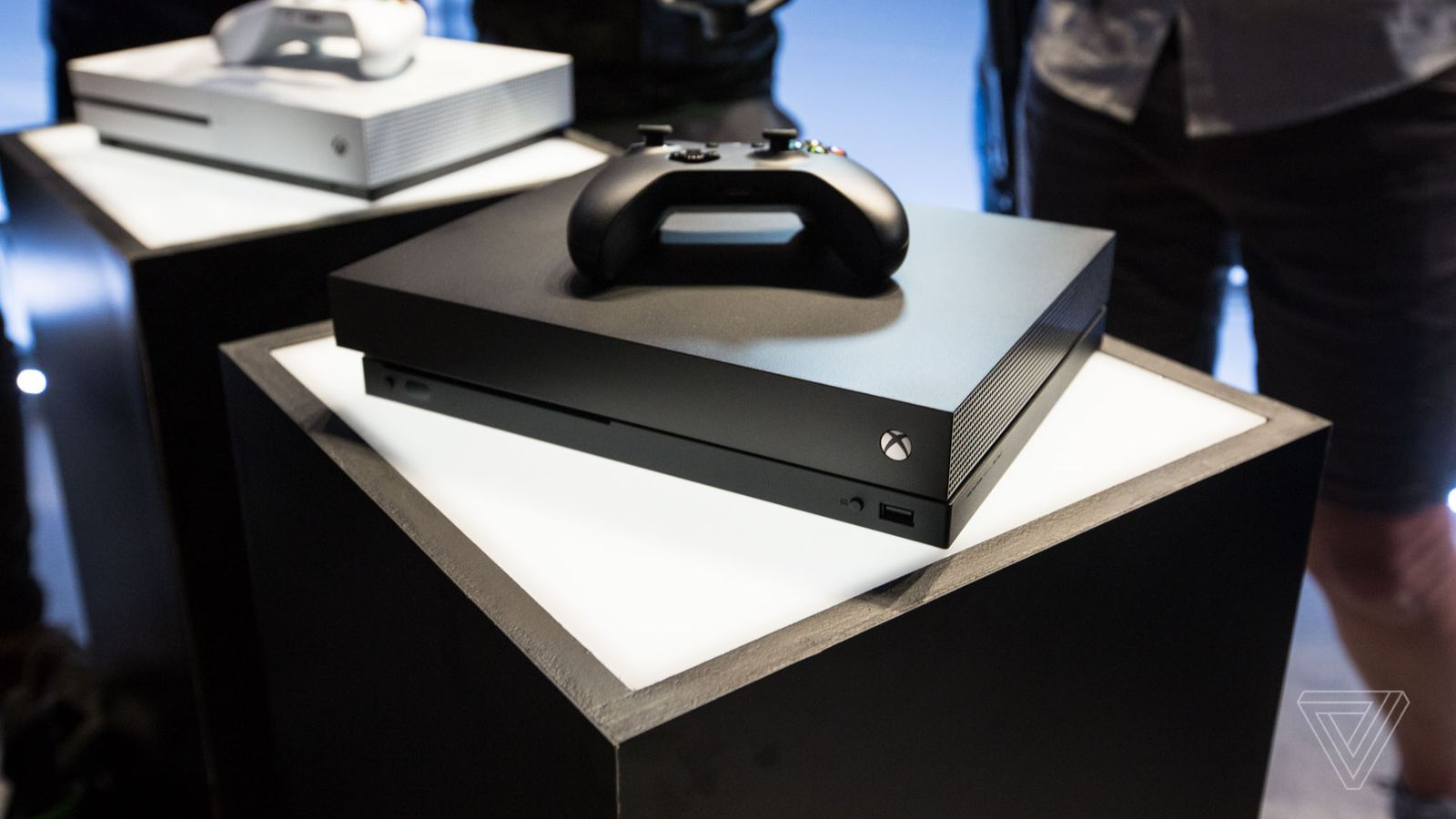 Microsoft S Xbox One X Is A Boring Black Box Concealing