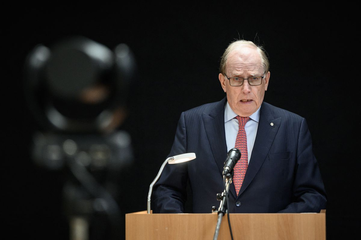Investigator Richard McLaren announces the result of his investigation into the 2016 Olympic Games.