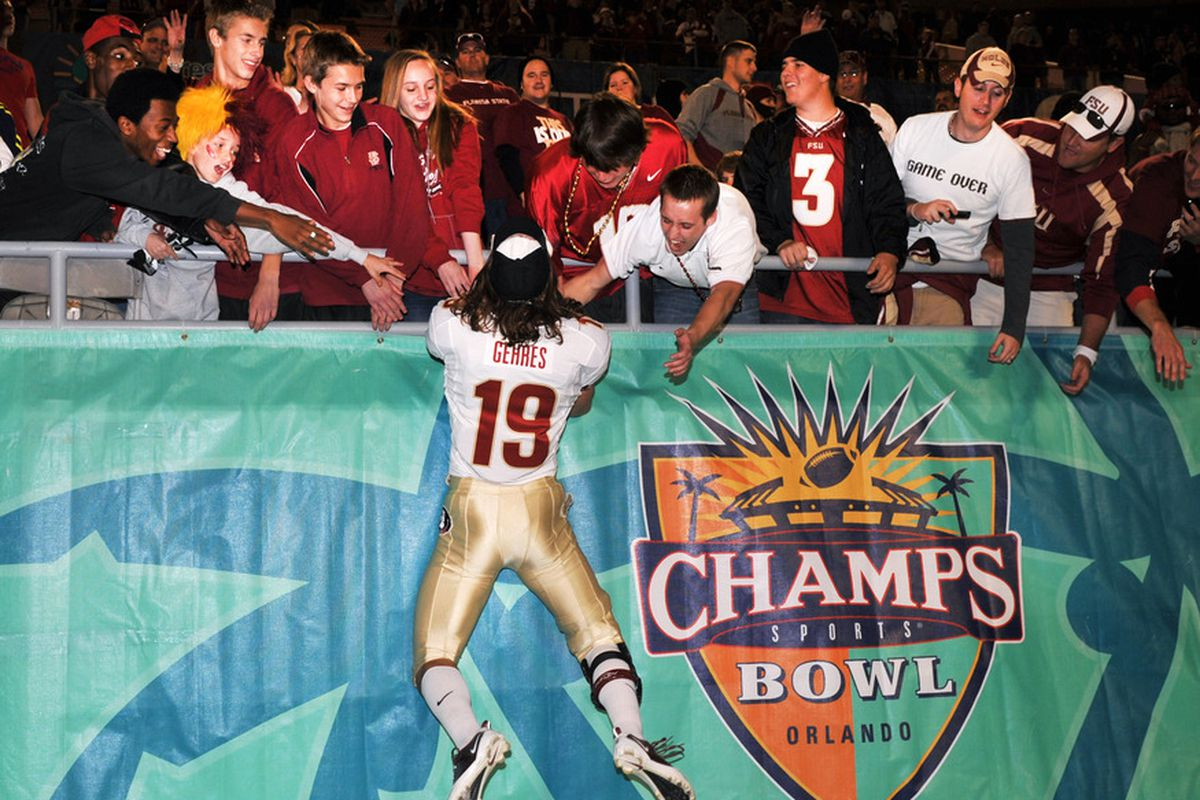 The Champs Sports Bowl is now the Russell Athletic Bowl (Photo by Al Messerschmidt/Getty Images)