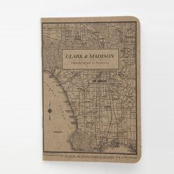 """For the constantly inspired: Clark & Madison travel notebook, <a href=""""http://www.clarkandmadison.com/products/travel-notebook"""">$4.50</a>"""