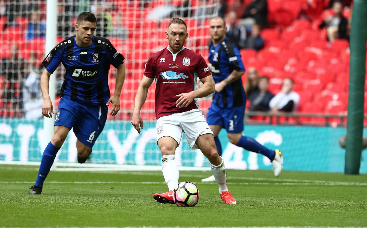 South Shields v Cleethorpes Town - The Buildbase FA Vase Final