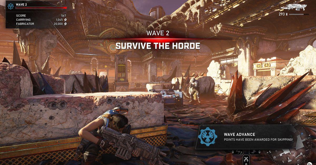 Gears 5's Horde mode revealed at Gamescom