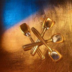 "<a href=""http://www.kioskkiosk.com/c/117/p/1593/Kulfi-Spoon-Set.html"" rel=""nofollow"">Kulfi spoons</a>, $14"