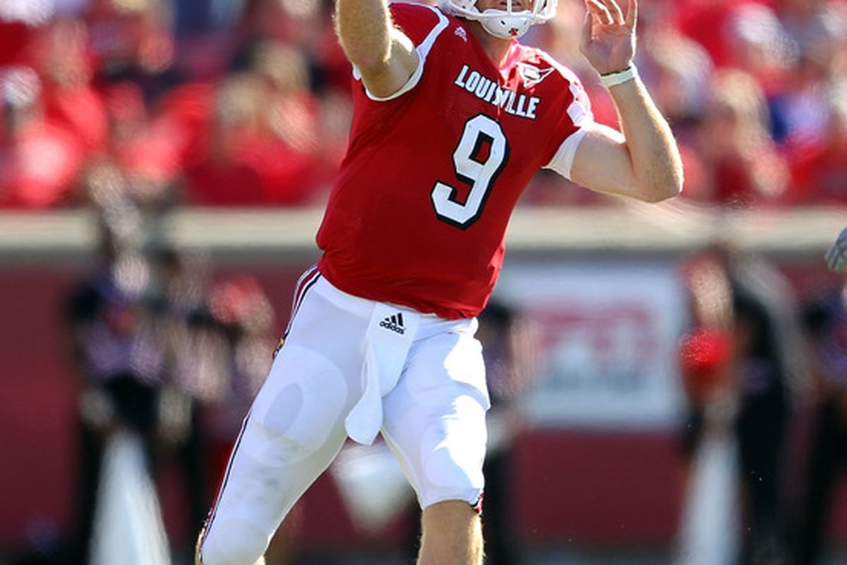 Louisville quarterback Adam Froman hopes his Louisville Cardinals roll into Corvallis with a 2-0 record next week.