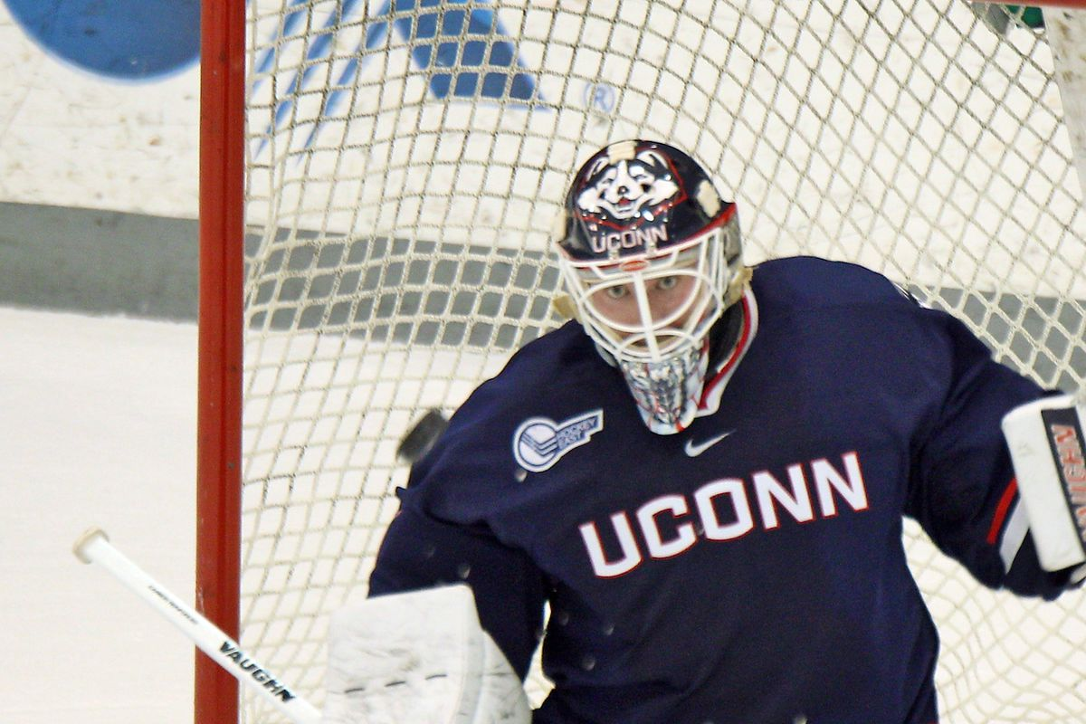 Rob Nichols had approximately one million saves last time these the Huskies met UNH.
